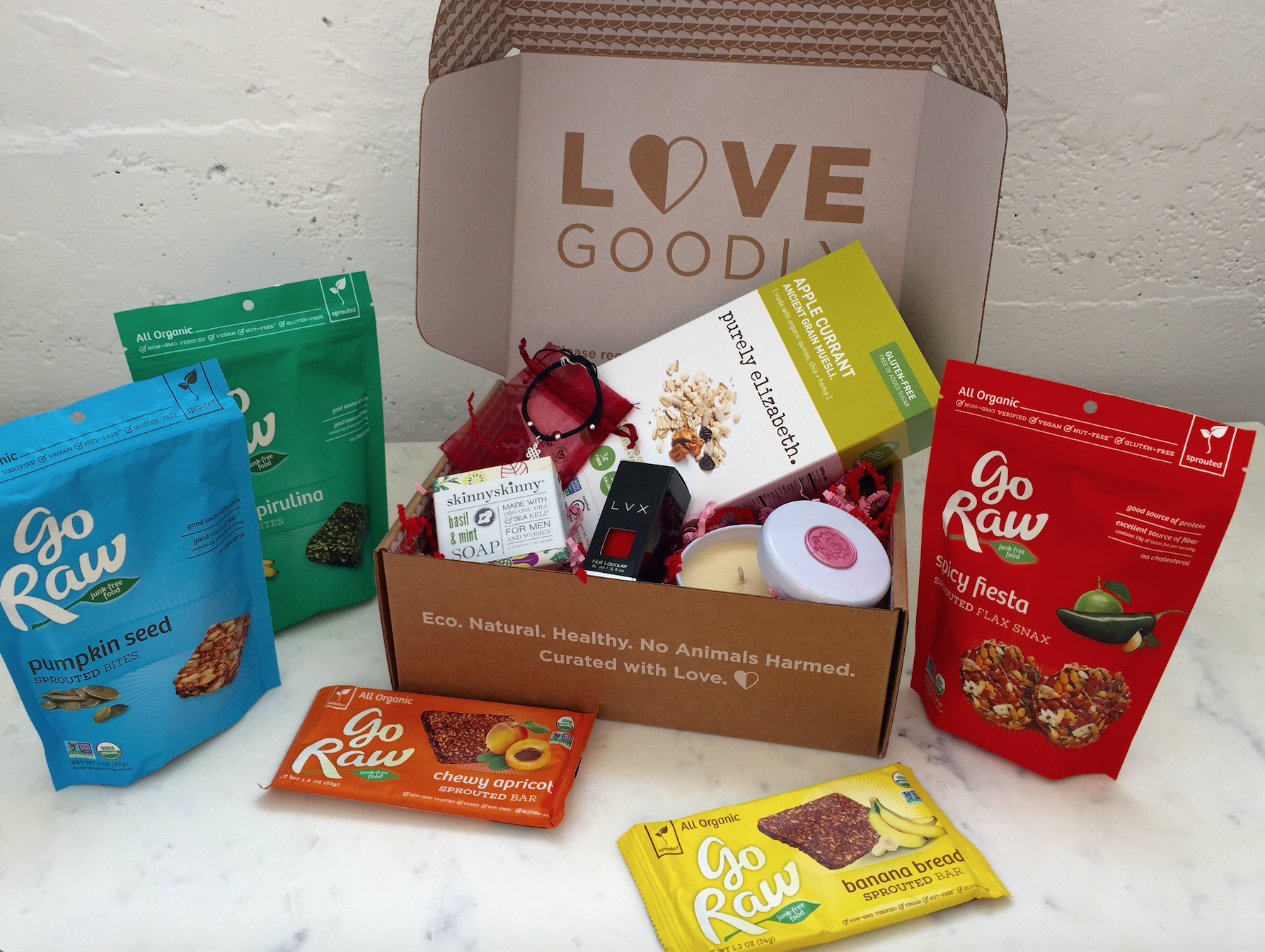 Love Goodly Go Raw giveaway