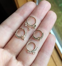 Etsy Rave: Studio Lil Septum Rings