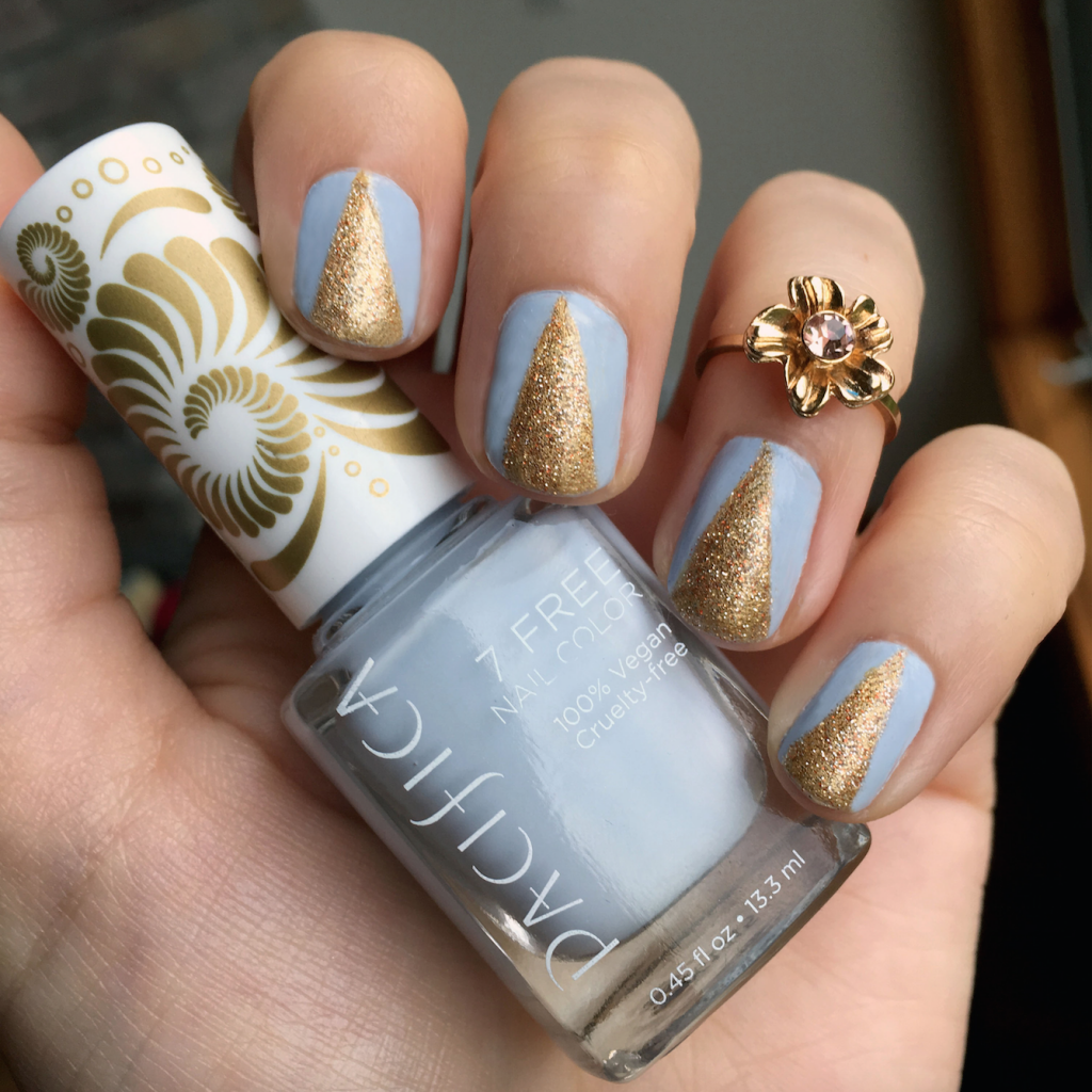 Nails Of The Day Pacifica S Pale Blue Eyes Vegan Beauty
