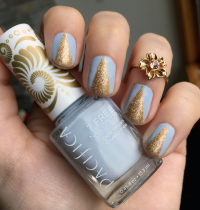 Nails of the Day: Pacifica's Pale Blue Eyes