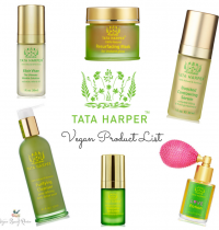 Tata Harper Vegan Beauty Products List