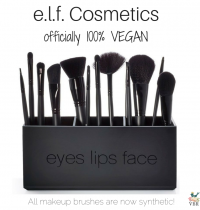 e.l.f. Cosmetics Now Officially 100% Vegan!
