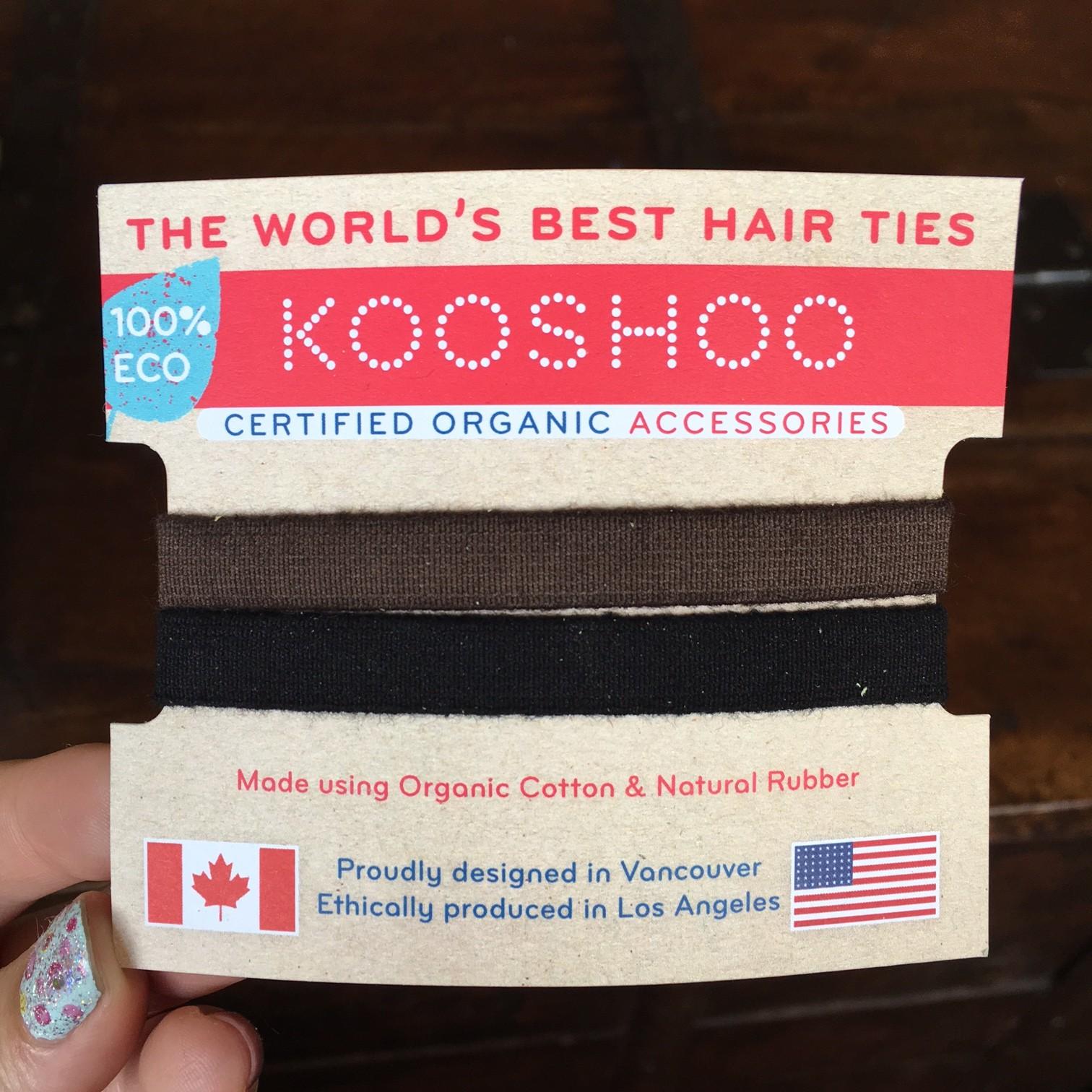 Kooshoo organic hair ties c7af50b1ce6