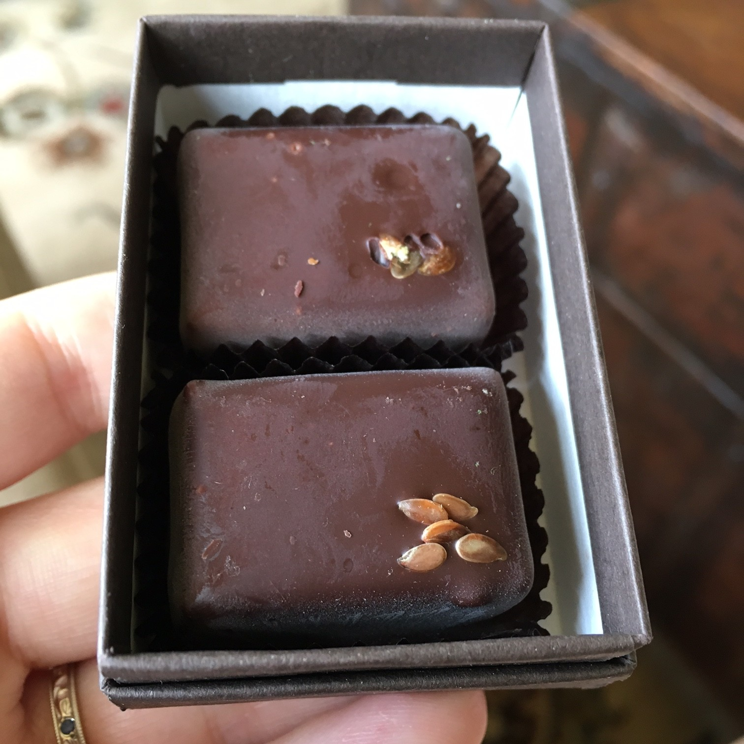 Nicobella organic dark truffles