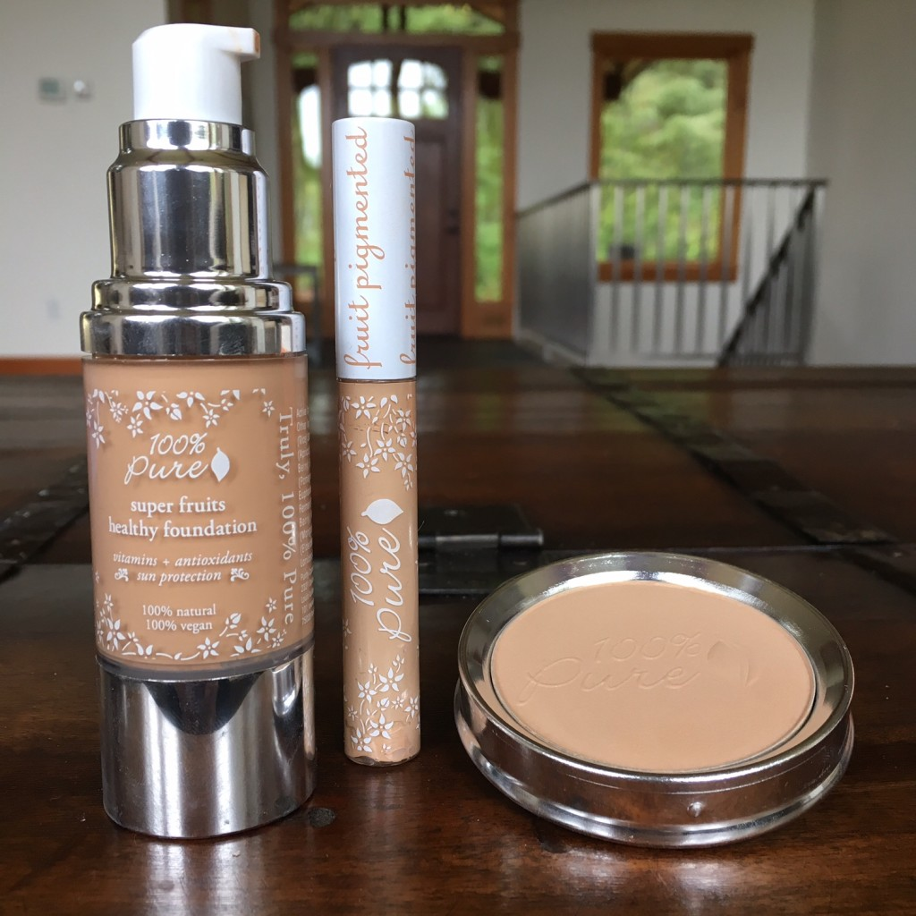 100 Pure Foundation Amp Concealer Review Vegan Beauty Review Vegan And Cruelty Free Beauty