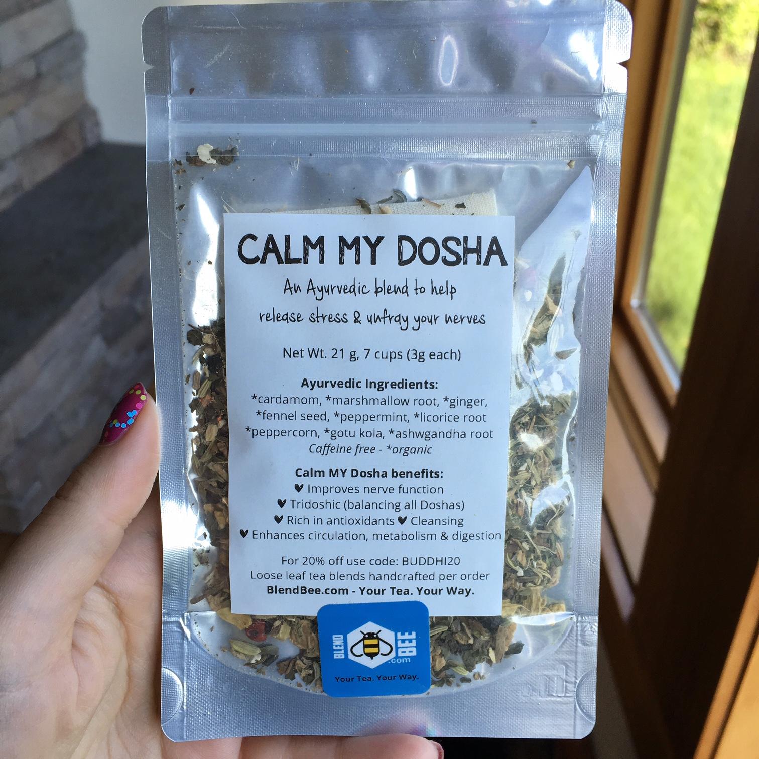 Blend Bee Calm My Dosha Tea