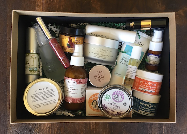 EWG beauty basket