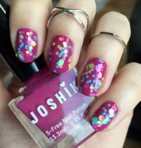 Manicure Monday: Party Nails with Joshik and Polish Me Silly