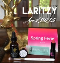LaRitzy April 2016 Vegan Beauty Box Review