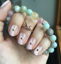 Nails of the Day: Roc Me Baby Mani & Jewelry Combo