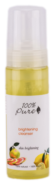100 Percent Pure Brightening Cleanser