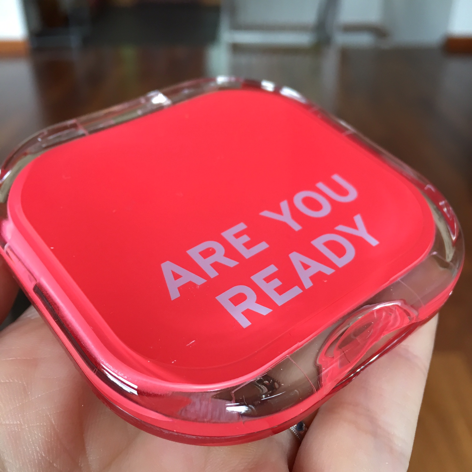 Knock Knock compact mirror