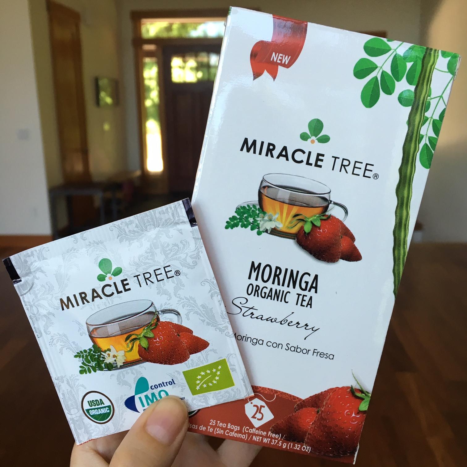 Miracle Tree Moringa Strawberry Tea