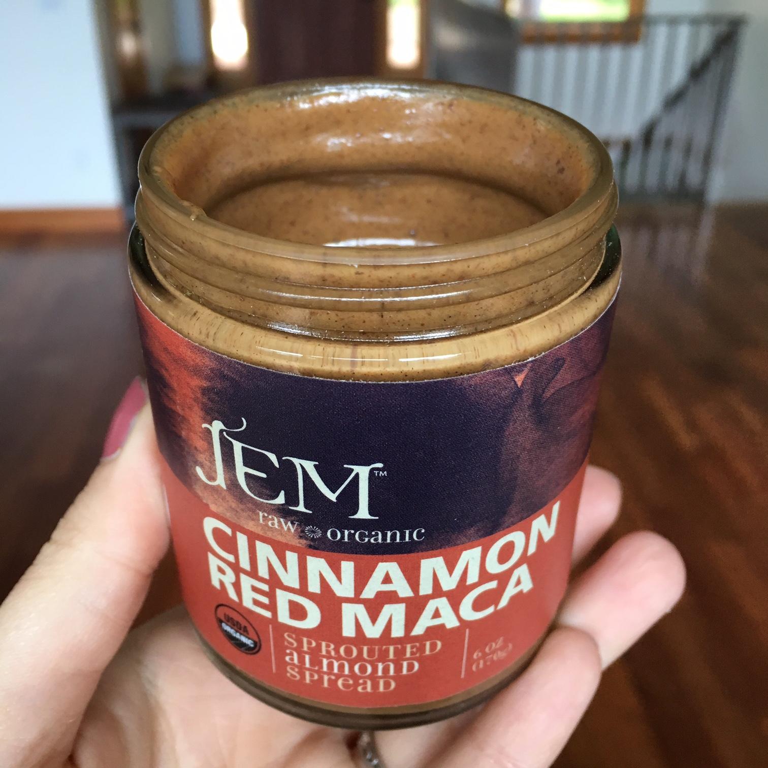 JEM cinnamon Red Maca nut butter