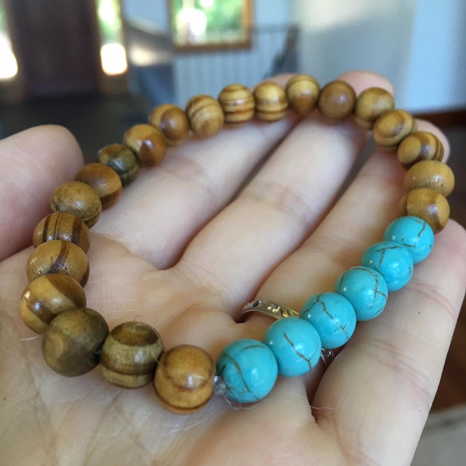 Natural Stone Chakra Energy Bracelet