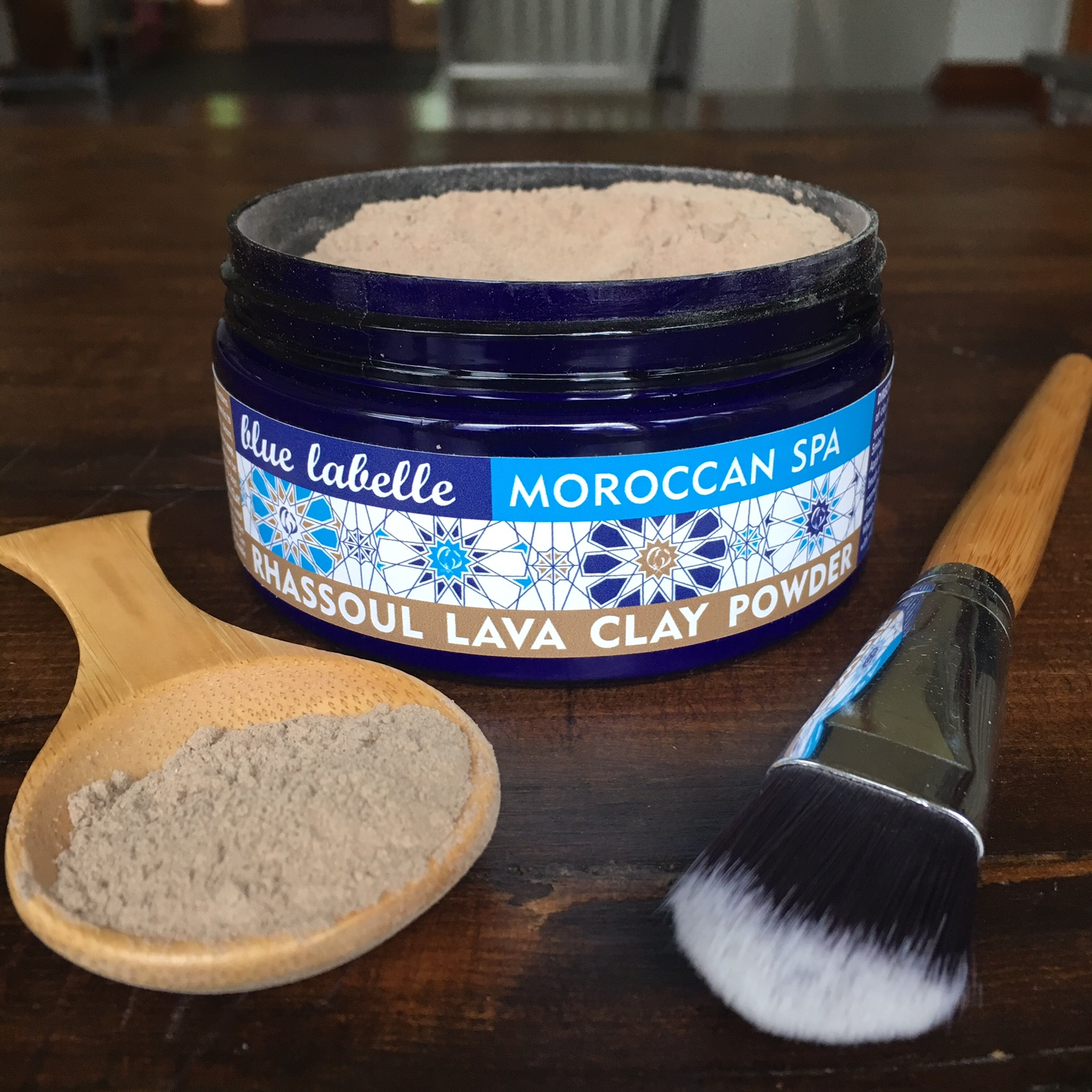 Blue Labelle Moroccan Spa Rhassoul Lava Clay mask