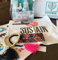 BuddhiBox Yoga Subscription Box July 2016 Review