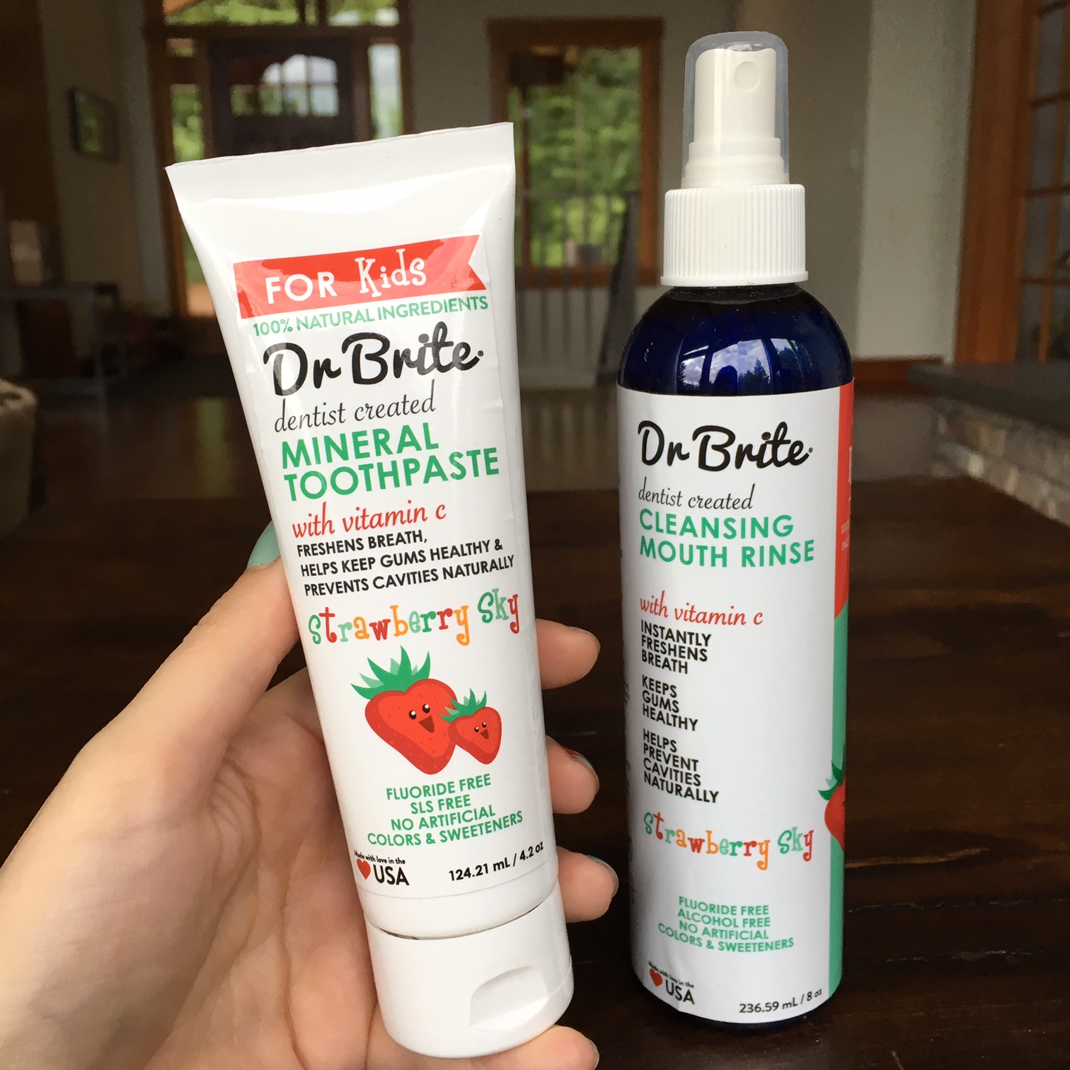 Dr Brite oral care for kids