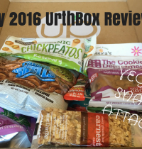 July 2016 UrthBox Vegan Snack Box Unboxing & Review [VIDEO]