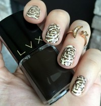 Nails of the Day Featuring LVX Fall 2016 Shades Vanille & Mink