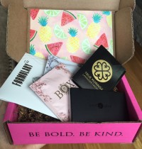 Petit Vour Vegan Beauty Box August 2016 Review