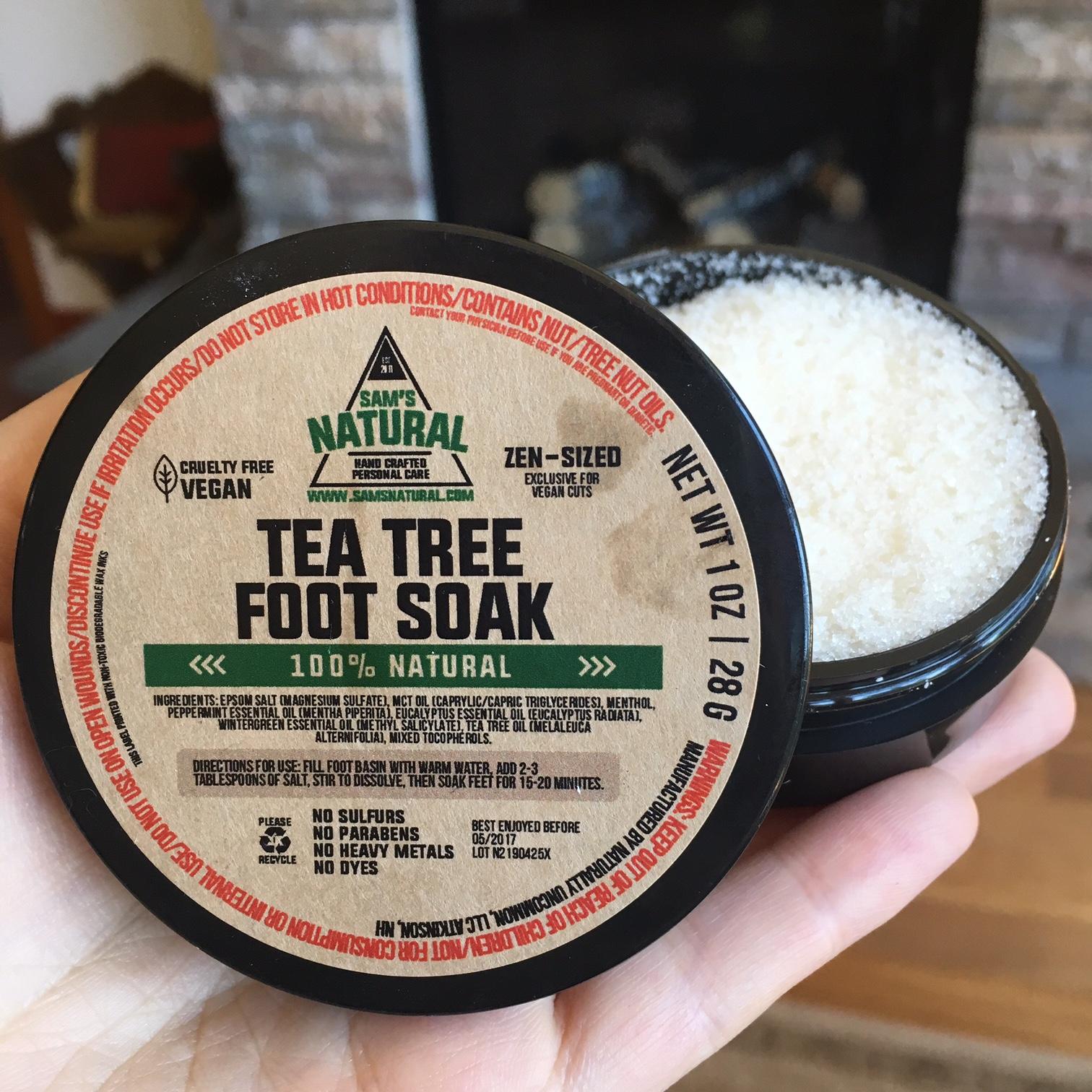 Sams Natural Tea Tree Foot Soak