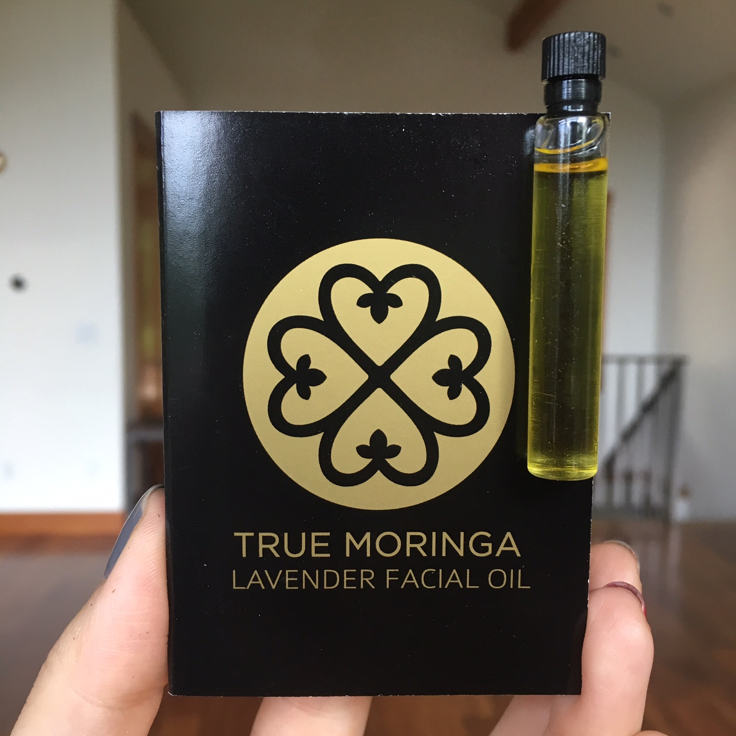 True Moringa Lavender Facial Oil