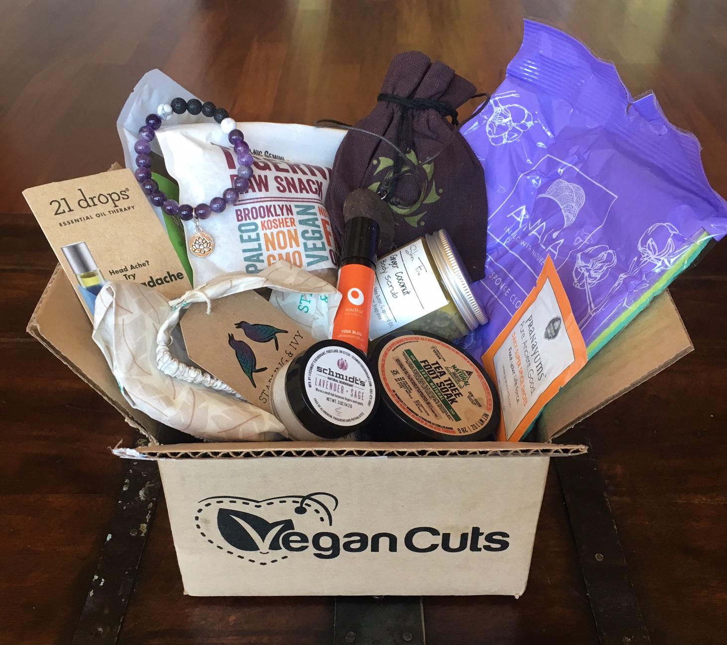Vegan Cuts vegan yoga box