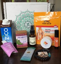 BuddhiBox Yoga Subscription Box August 2016 Review