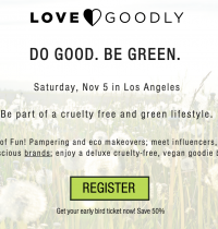 Join Me at LOVE GOODLY's 'Do Good Be Green' Conference on 11/5 in LA!
