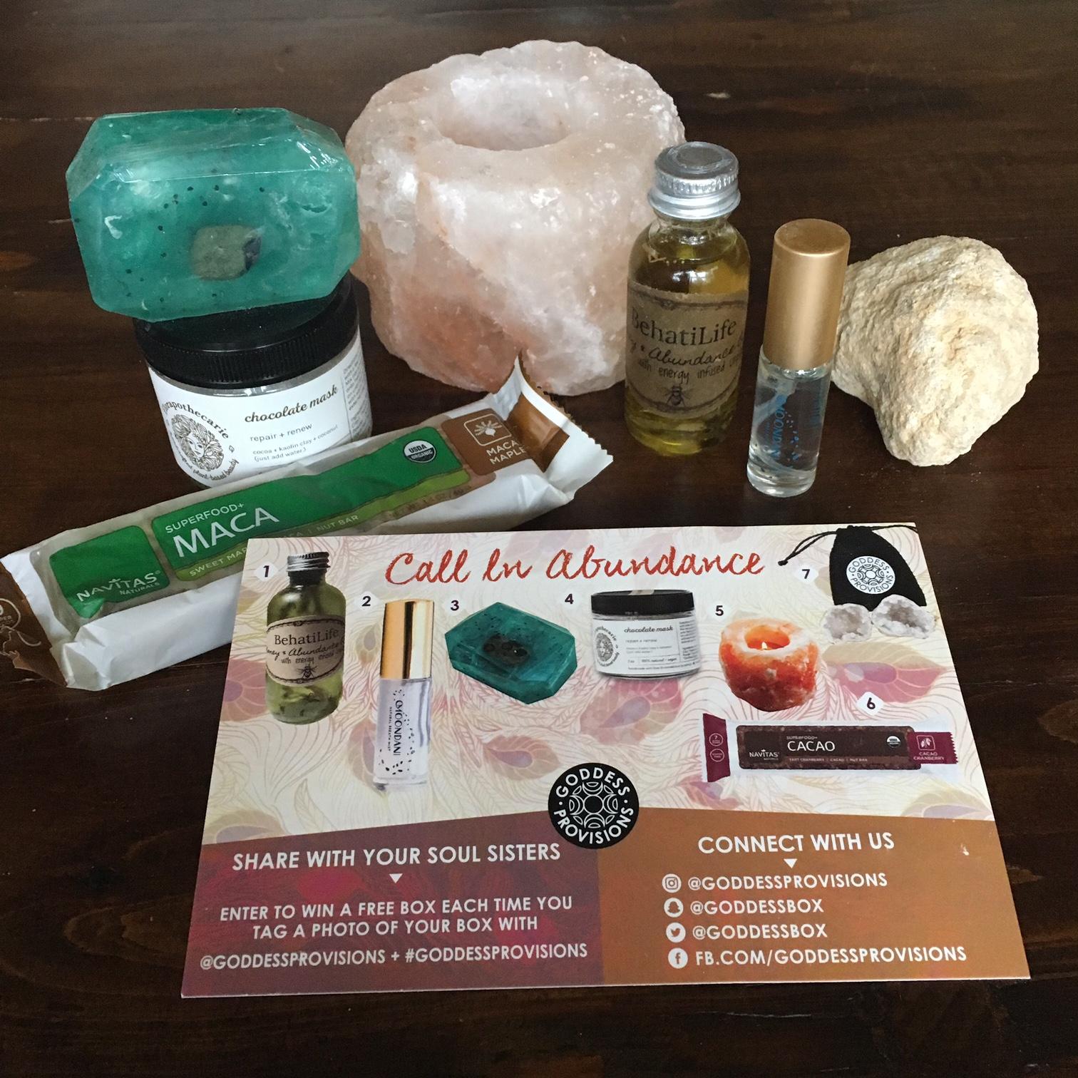 goddess-provisions-october-2016