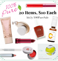 HUGE 100% Pure Holiday Sale – 20 Items for Only $10 Each!