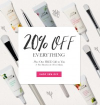 100% Pure's Jingle Jingle Sale: 20% Off Everything + Free Gifts
