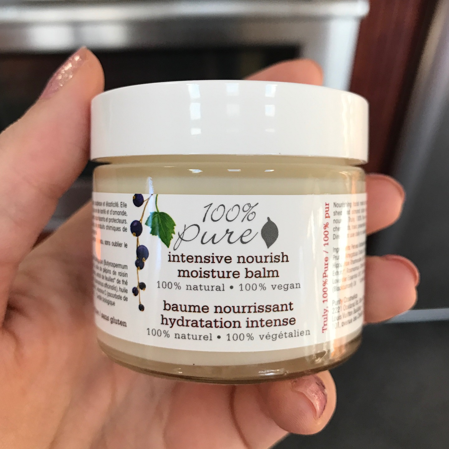 100 Percent Pure Intensive Nourish Moisture Balm