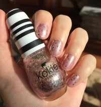 Manicure Monday: Sparkler Send Off by Kokie Cosmetics