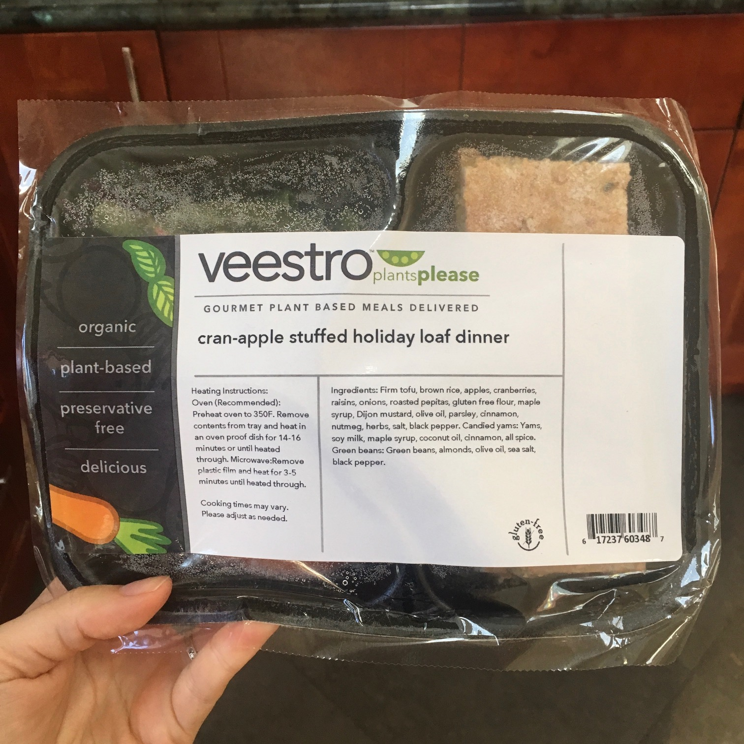Veestro vegan meals