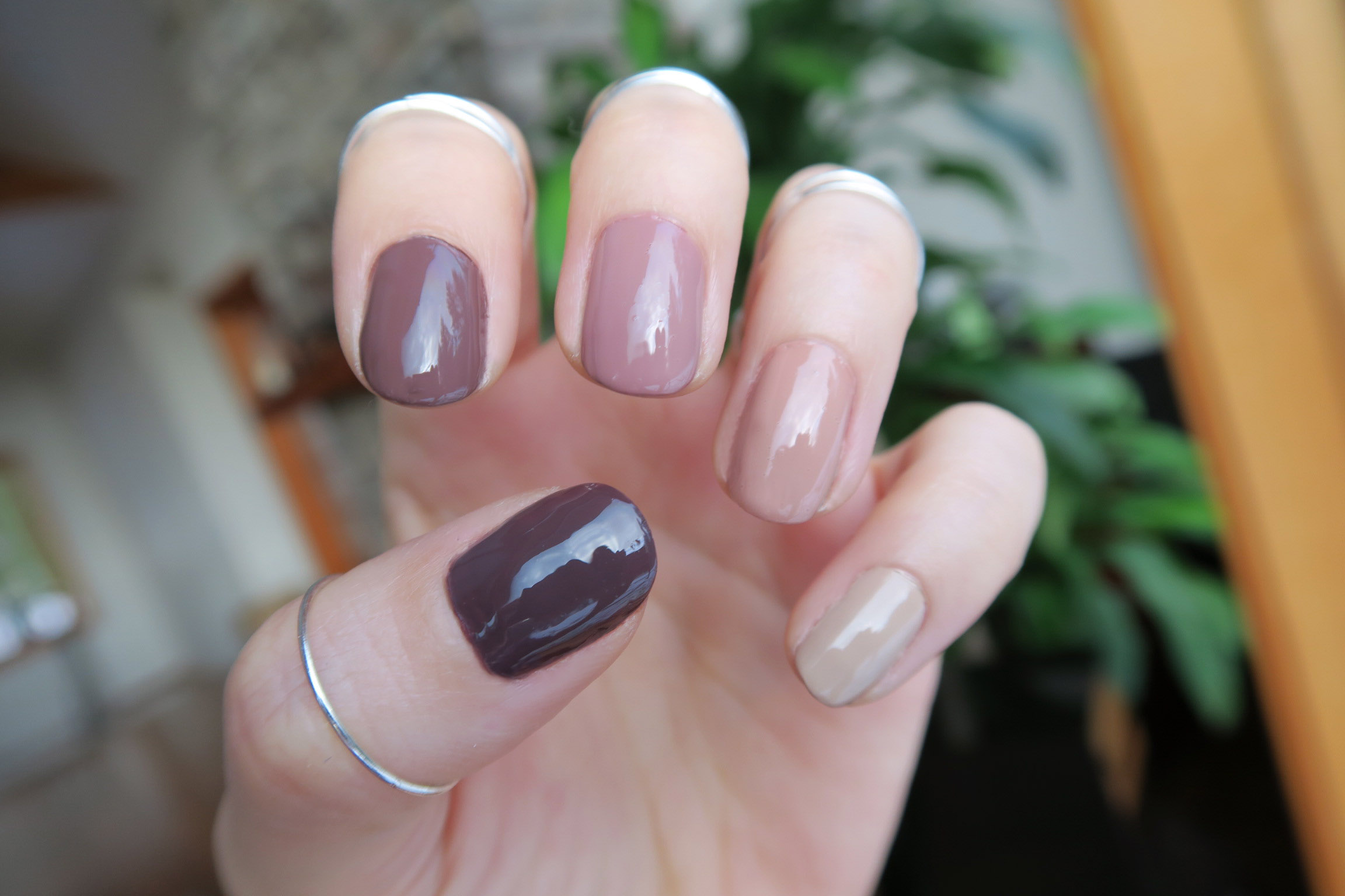 zoya naturel 3 nail polish swatches