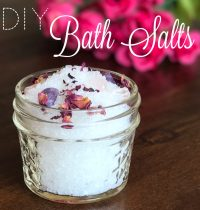 DIY Heavenly Bath Salts