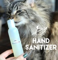 How to Make Natural Hand Sanitizer