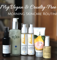 My Vegan & Cruelty-Free Morning Skincare Routine [VIDEO]