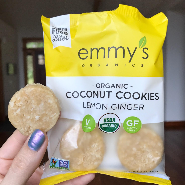 Emmys Organics Lemon Ginger Macaroons
