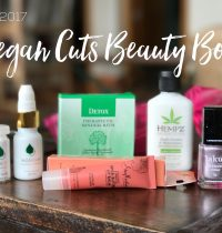 March 2017 Vegan Cuts Beauty Box Review