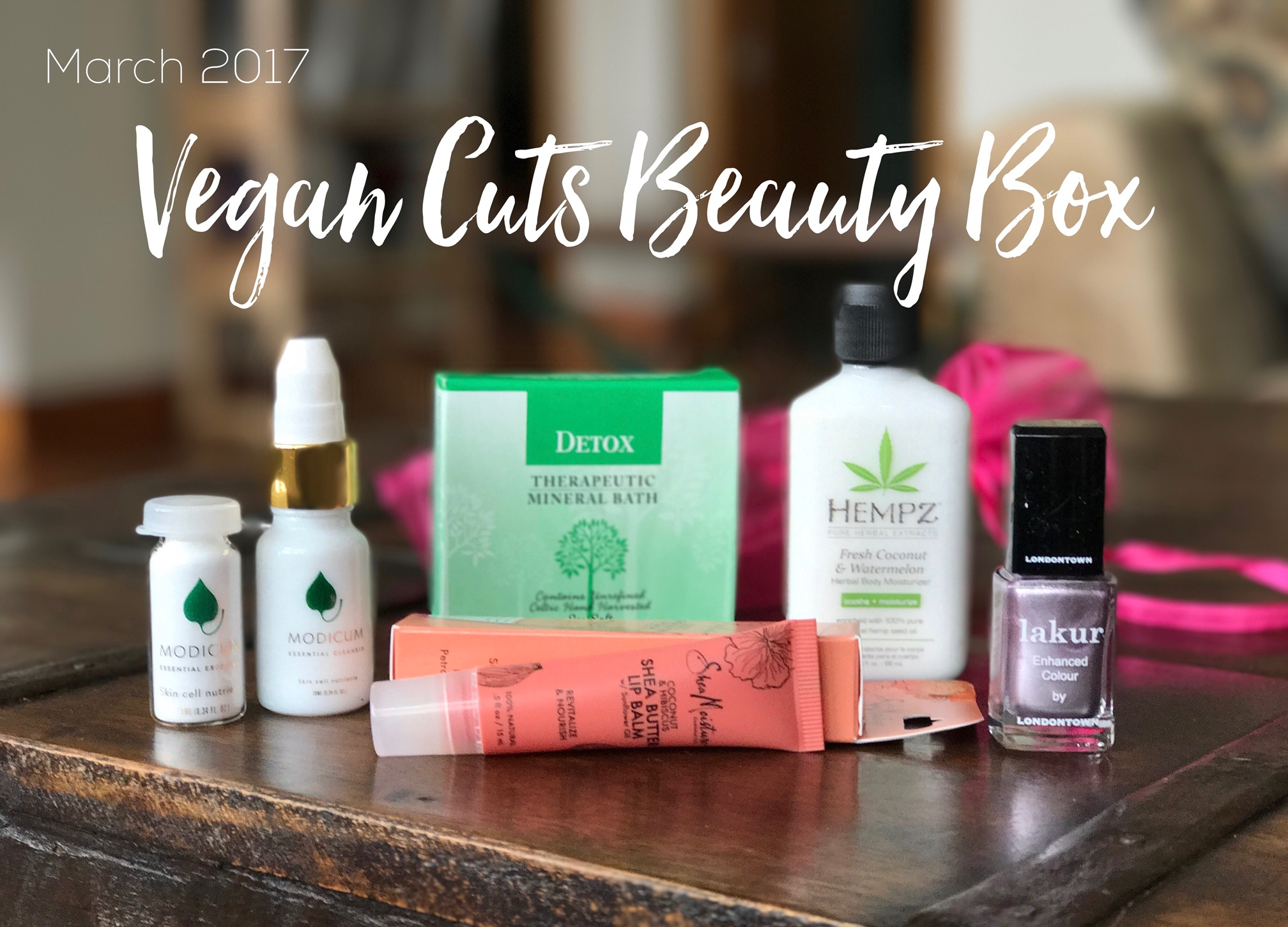 March 2017 Vegan Cuts Beauty Box