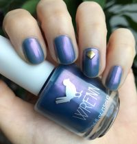 Nails of the Day: PeriTwinkle by Shop Wrenn