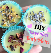 Easy-Peasy DIY Lavender Bath Melts [VIDEO]