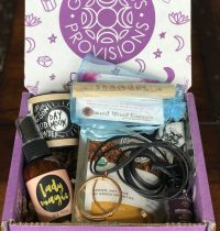 Goddess Provisions Subscription Box Review – May 2017