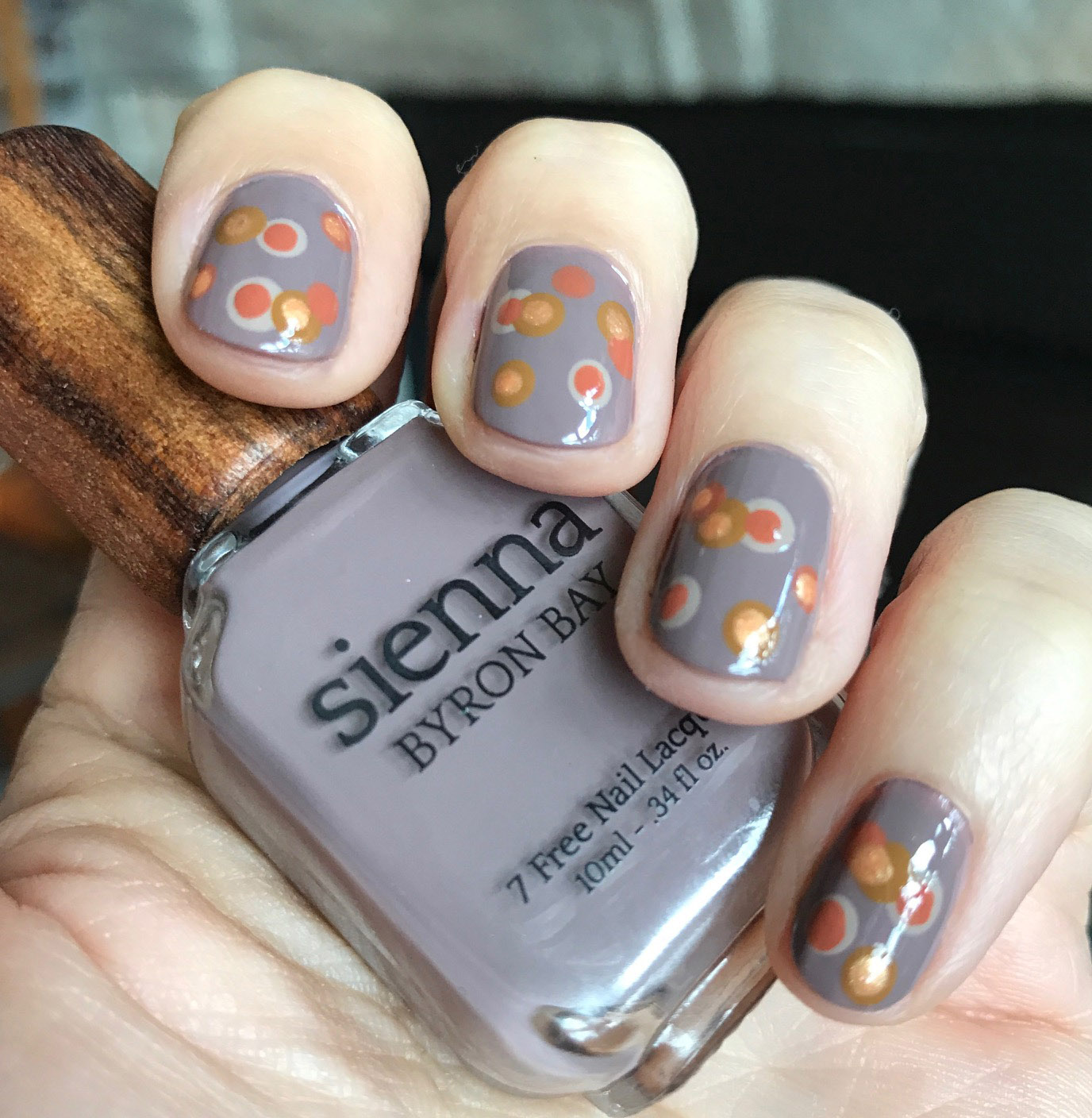 Nails of the Day: Sienna Byron Bay Dotticure - Vegan Beauty Review ...