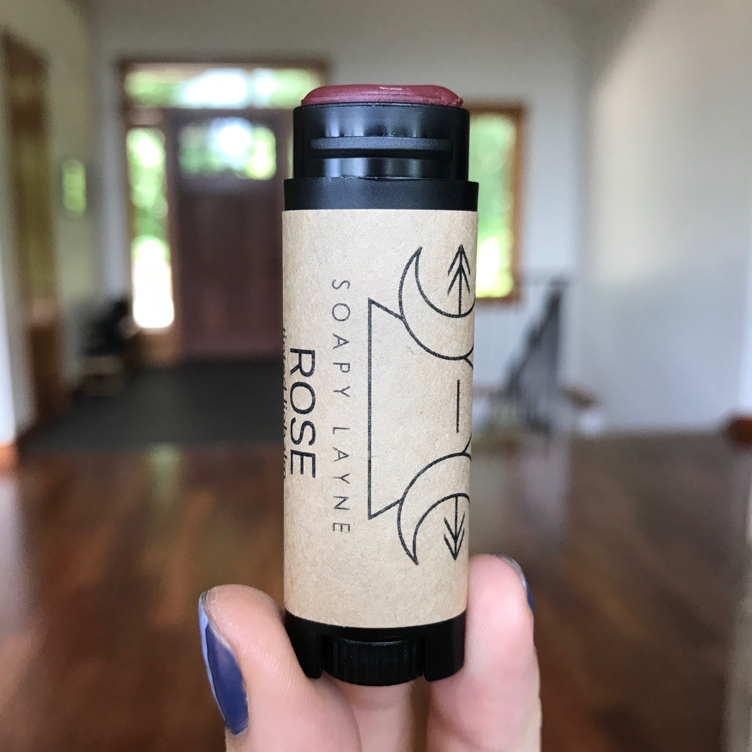 Soapy Layne Rose Tinted Lip Balm