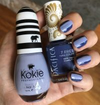 Blue on Blue Cruelty-Free Mani with Pacifica & Kokie