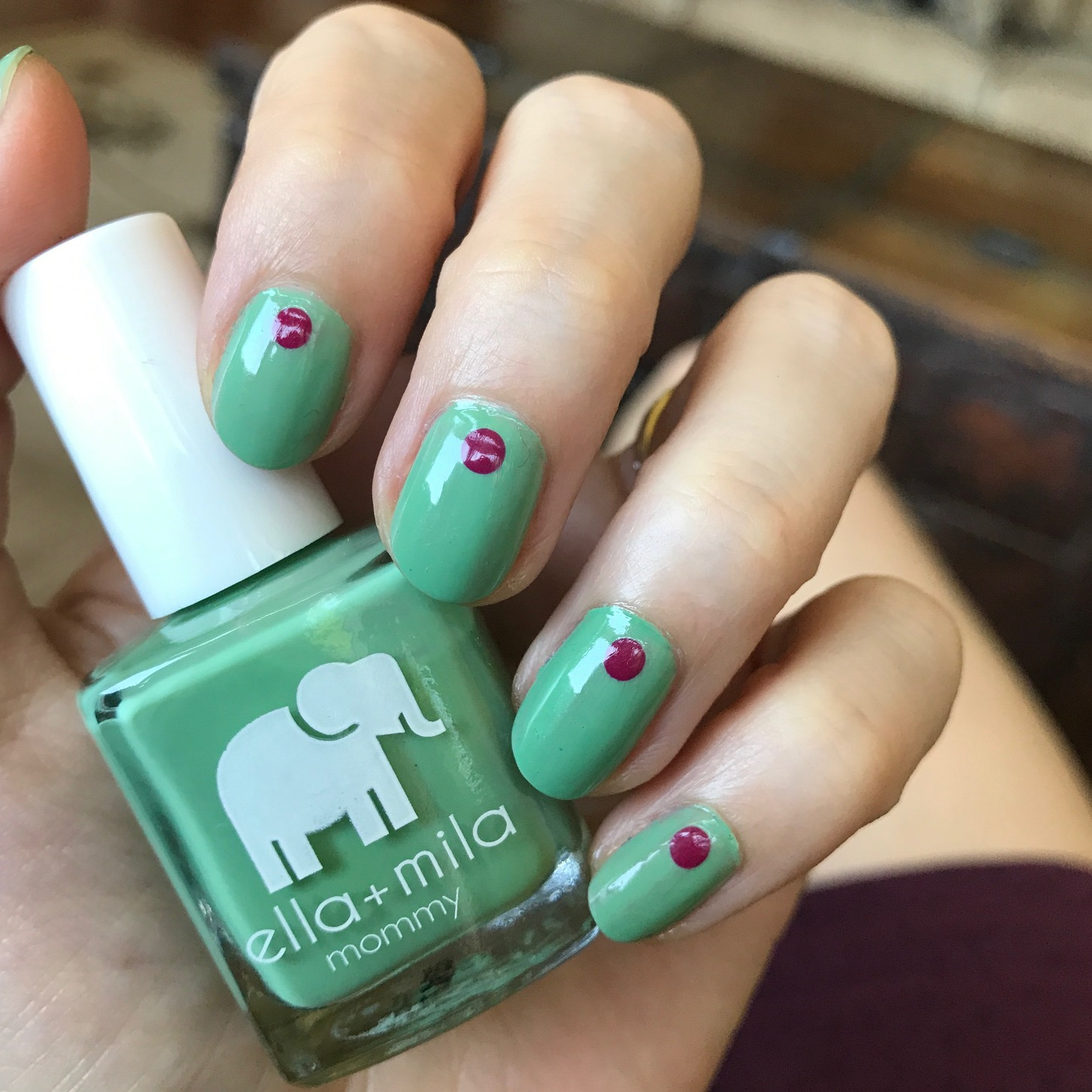 ella mila i mint it nail polish